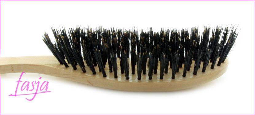 szczotka do włosów z naturalnego włosia