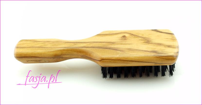 piękna design szczotki do włosów z drzewa oliwnego