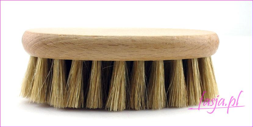 szczotka do ciała z naturalnego włosia