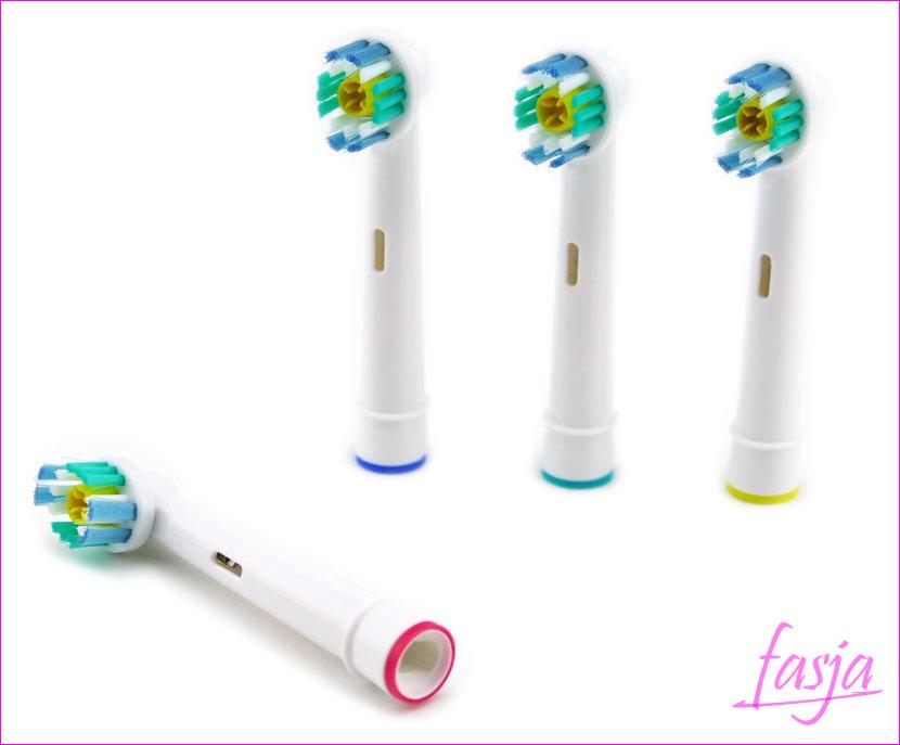 szczoteczki zapasowe do elektrycznej szczoteczki Oral-B