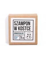 Organiczny szampon w kostce do włosów normalnych 85g z haczykiem