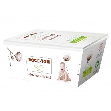 Patyczki higieniczne z bawełny organicznej i papieru 200szt