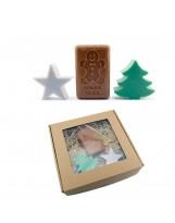Mydełka pachnące świętami - zestaw prezentowy