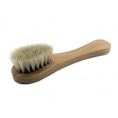 Szczoteczka do pielęgnacji twarzy z naturalnego włosia