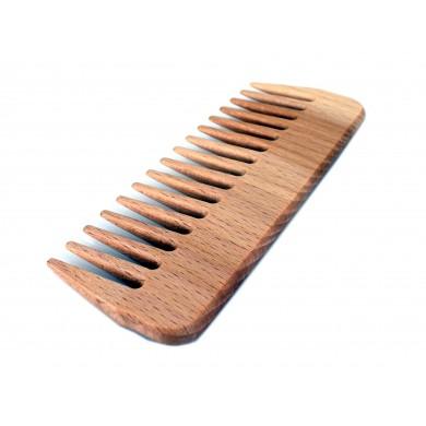 Grzebień drewniany AFRO