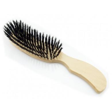 Szczotka do gęstych włosów z włosia dzika 100%