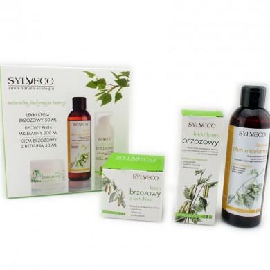 Zestaw świąteczny naturalnych kosmetyków z ekstraktem z brzozy SYLVECO