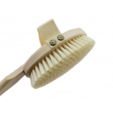 Szczotka do mycia pleców na długiej rączce