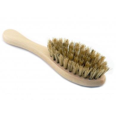 Szczoteczka do włosów dla dzieci i niemowląt z naturalnej szczeciny