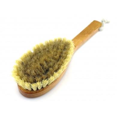 Luksusowa szczotka do mycia ciała z naturalnego włosia