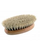 Szczotka do masażu na sucho z końskiego włosia