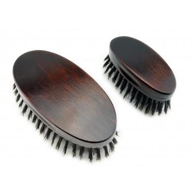 Zestaw szczotek do brody (mała i duża)