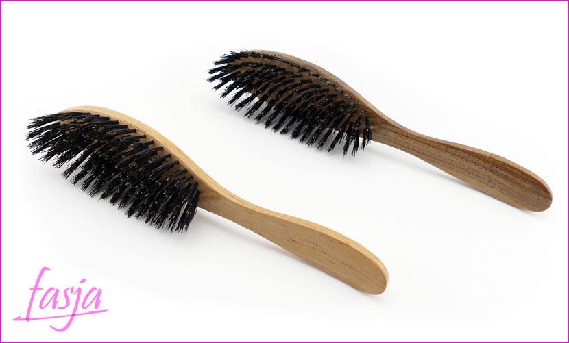 luksusowa szczotka do włosów z dzika