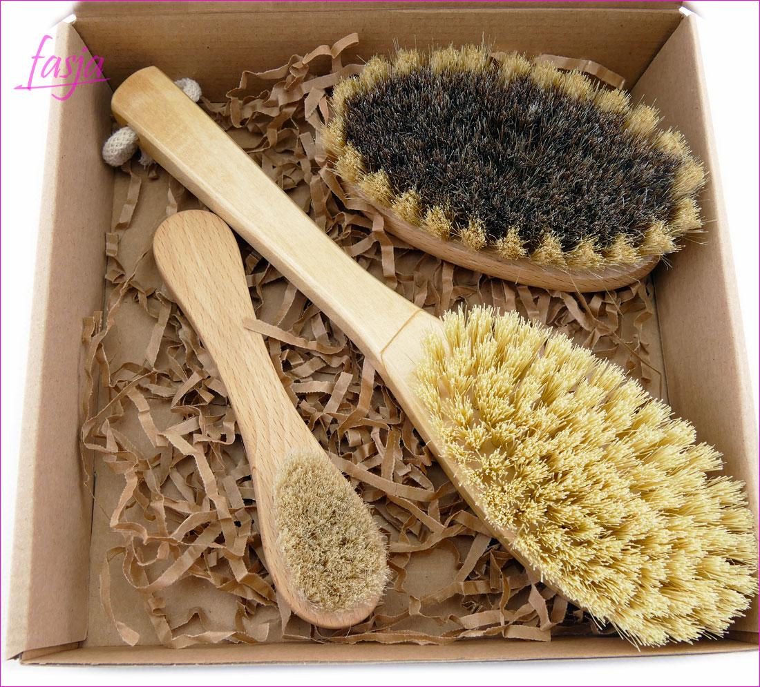 Fasja - szczotki do masażu ciała